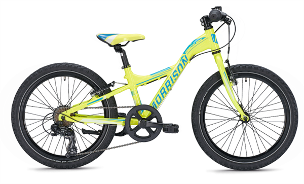 Morrison Mescalero X20 20 inch Y-Lite yellow/blue Kids Bike