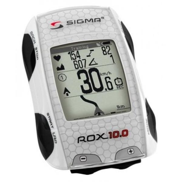 Sigma Radcomputer ROX 10.0 GPS Set weiß (01001)