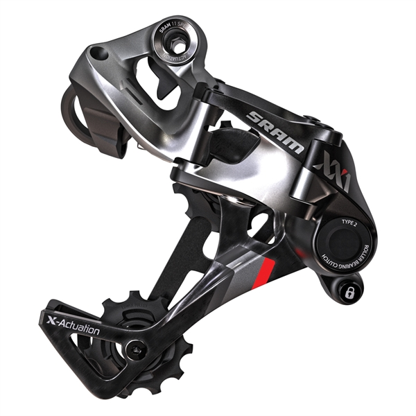 SRAM XX X-Horizon Rear Derailleur - Type 2.1 - 1x11 speed - red