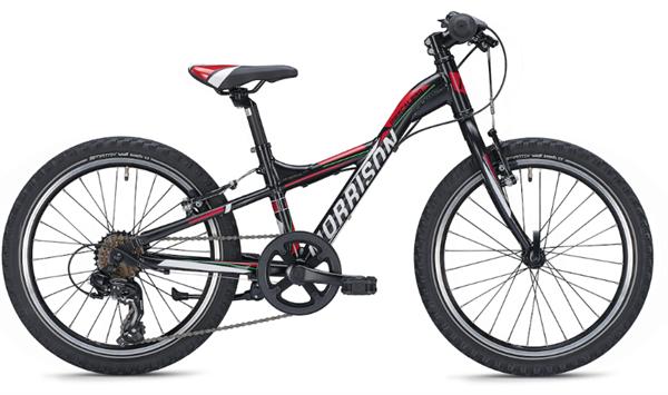 Morrison Mescalero X20 20 Zoll Y-Lite schwarz/rot Kinderrad