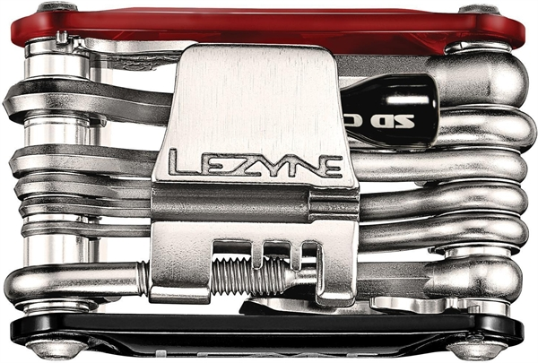 Lezyne multifunctional tool RAP-20/-21-CO2 RAP-21 CO2 / red-black