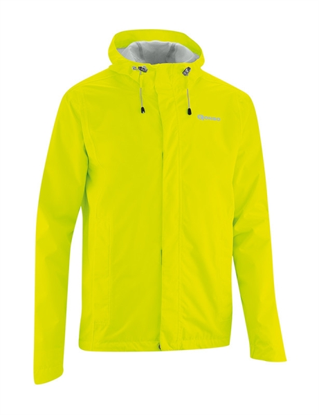 Gonso Save Light Men's commuter raincoat safety yellow