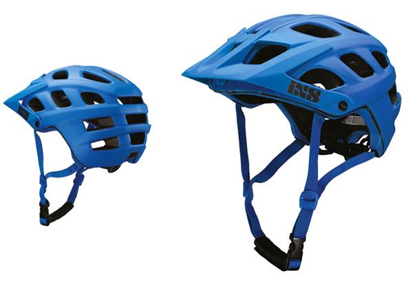 IXS Trail RS Evo helmet fluor blue