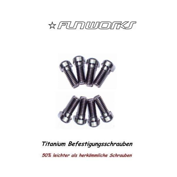 Fun Works Tuning Parts Titanium Disk Brake Schrauben 8er Set
