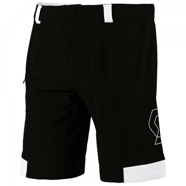 SCOTT Shorts Endurance 10 ls/fit schwarz/weiß