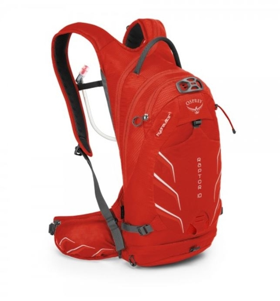 Osprey Raptor 10 Trinkrucksack Red Pepper