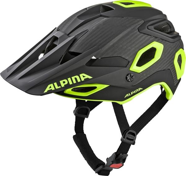 Alpina Rootage Helm black-neon-yellow