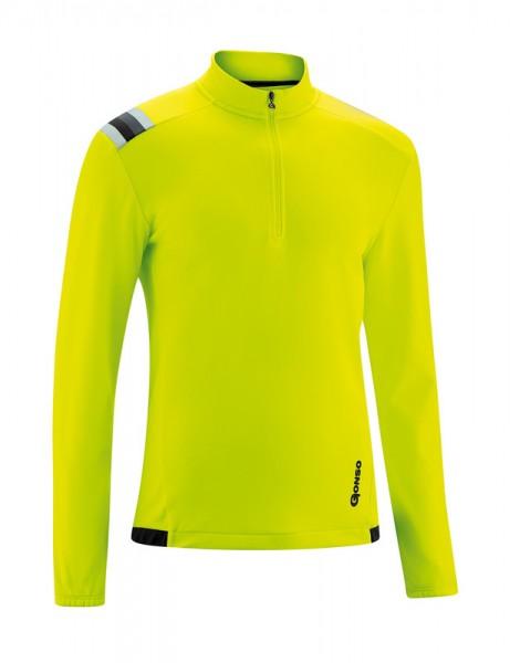 Gonso Kroix cycling jersey safety yellow