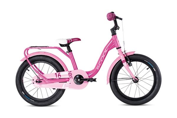 S´COOL niXe 16 Aluminium 1-speed pink/light pink