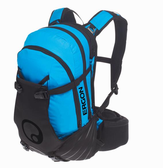 Ergon BA3 Bike Rucksack stealth/blue
