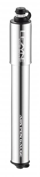 Lezyne Gauge Drive HV Minipumpe shiny-silver