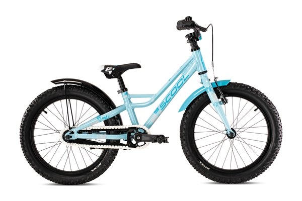S´COOL faXe 18 alloy 1-speed lightblue reflex