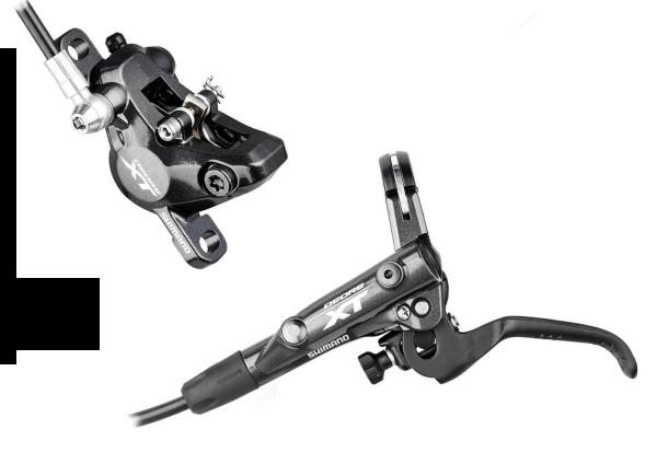 Shimano Deore XT Scheibenbremse BR-M8000 XC VR schwarz