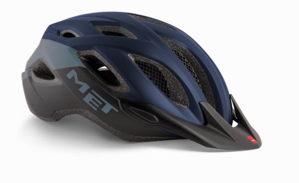 Met Crossover MTB Helm Blue/Black