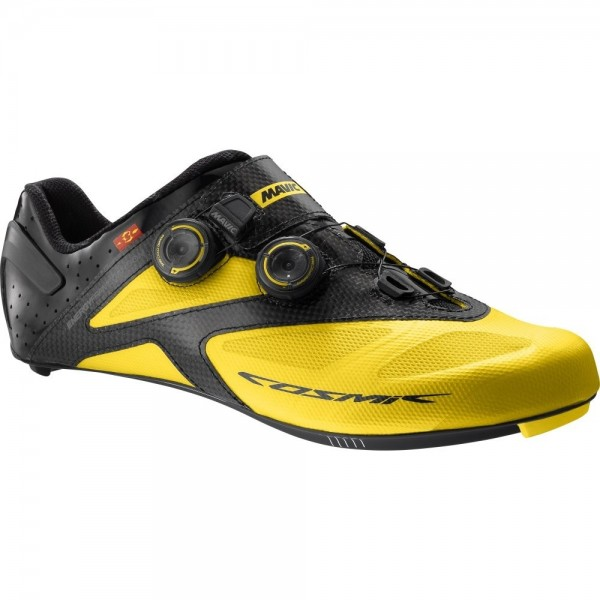 Mavic Cosmic Ultimate ROAD Shoe yellow mavic/black
