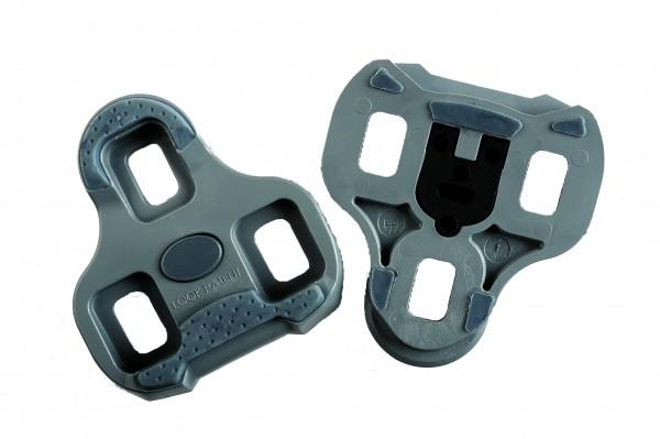 Look Pedalplatten Keo Grip Grau 9°