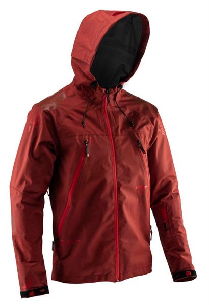 Leatt DBX 5.0 All Mountain Jacket ruby