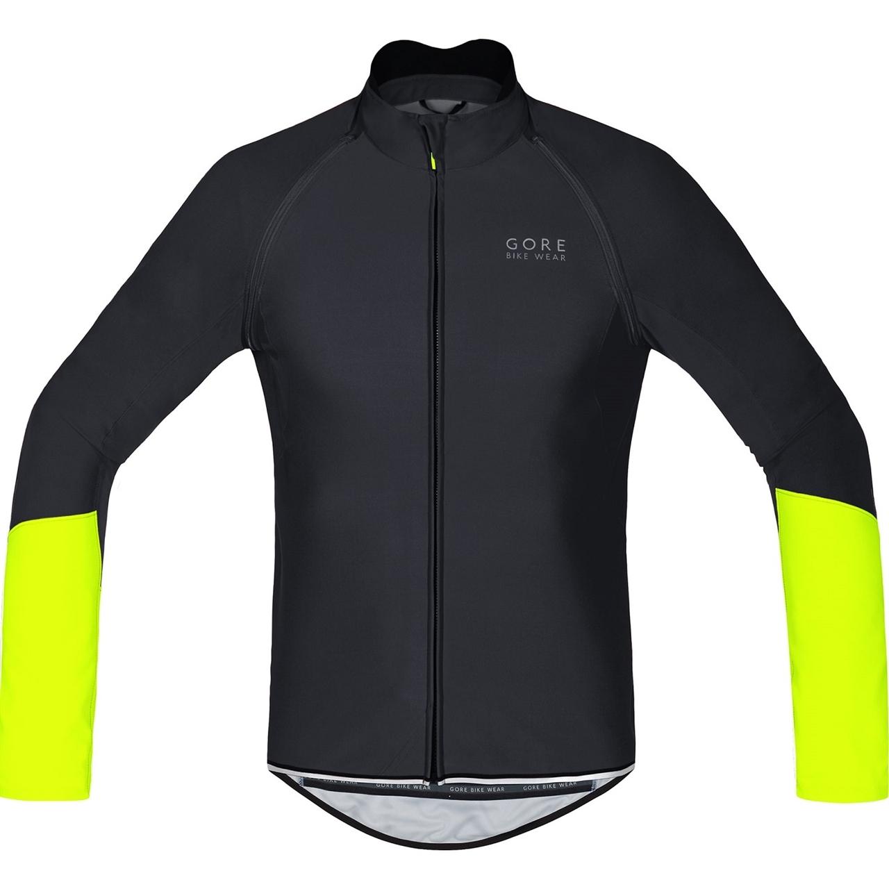 Gore Bike Wear Power WS SO Zip-Off Jersey black neon yellow  72d262e7d