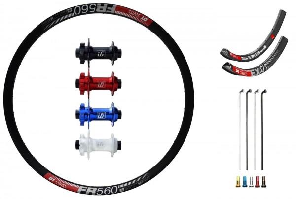 "Fun Works N-Light One Disc IS Custom Front Wheel MTB 26"""
