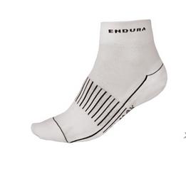 Endura Coolmax Race II Socken (Dreierpack) weiß