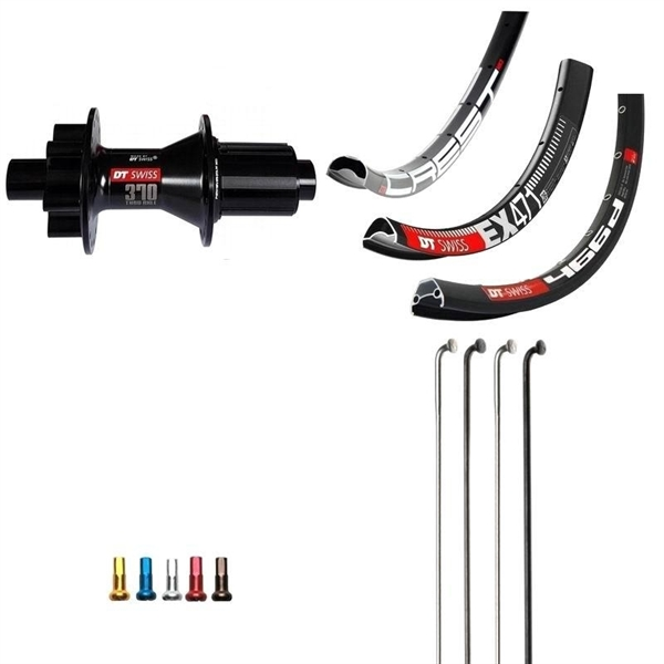 DT Swiss 370 Boost Disc IS Custom Rear Wheel MTB 650b
