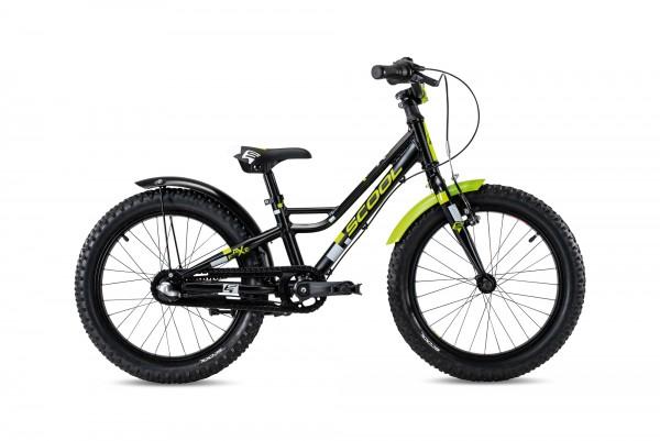 S´COOL faXe 18 Aluminium 3-Gang black/lemon matt reflex