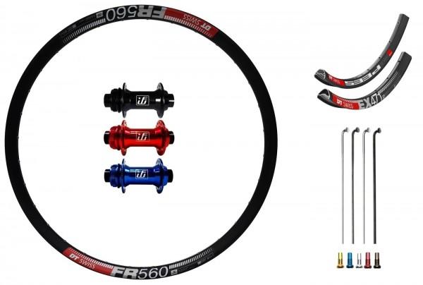 "Fun Works N-Light One Disc CL Custom Front Wheel MTB 26"""