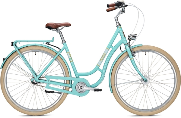 "Falter Classic Bike R 3.0 L (55) 28 ""Turquoise Glossy"