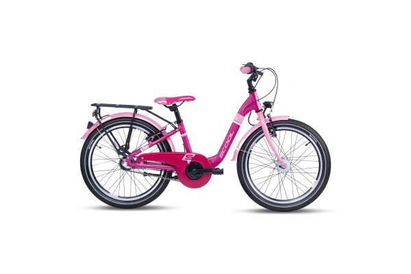 S´COOL chiX 20 alloy 3-speed pink