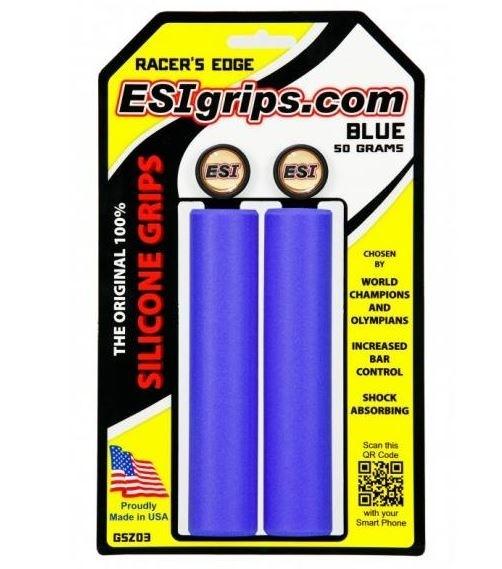 ESI Racer´s Edge blue Griffe Silikon