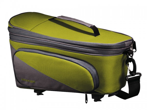 Racktime luggage carrier Talis Plus trunk lime green/stone grey