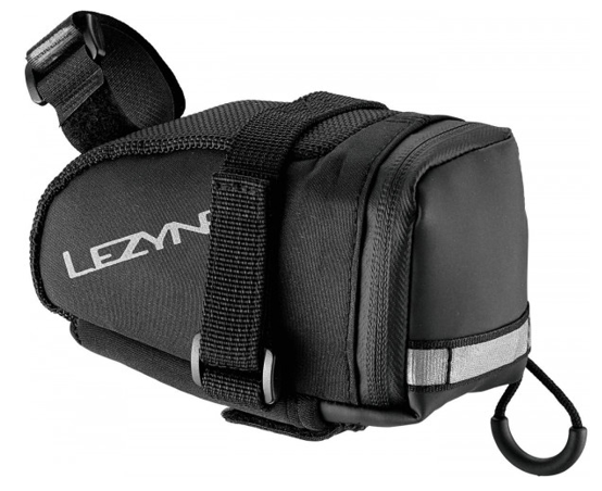 Lezyne Saddlebag Caddy (M) incl. CO2 Cartridge Twin Speed Drive 2x16g, black