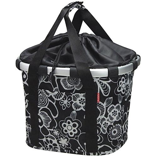 Reisenthel KLICKfix Bikebasket Tasche fleur schwarz