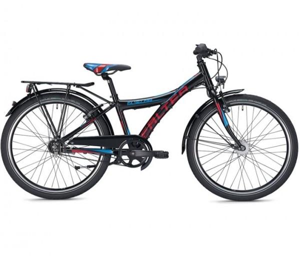 Falter FX 407 Pro 24 Zoll Y schwarz/rot Kinderrad %