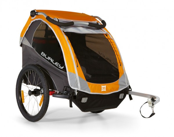 Burley Child Trailer D'Lite orange