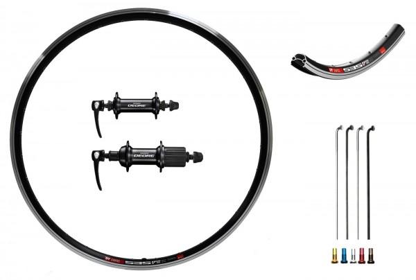 Shimano Deore Custom Laufradsatz für Trekking 28 Zoll