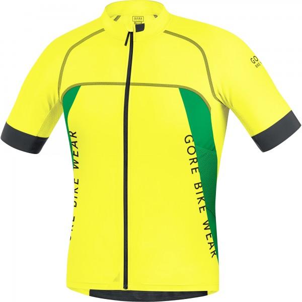 Gore Bike Wear ALP-X PRO Jersey cadmium yellow/fresh green %