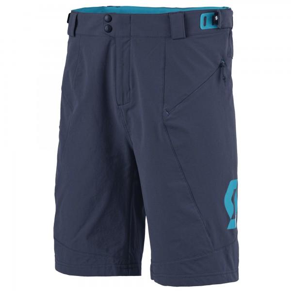 SCOTT Shorts Endurance LS/Fit W/Pad blue nights/hawaii blue