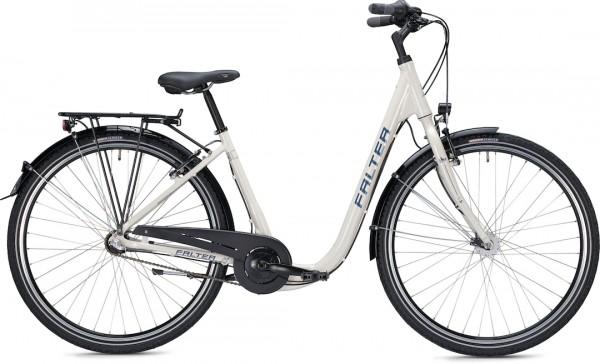 "Falter City / Urbanbike C 2.0 Comfort 28 ""shiny cream"