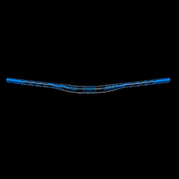 AZONIC World Force FAT 35 Handlebar 34,9mm / 18mm Rise black/blue