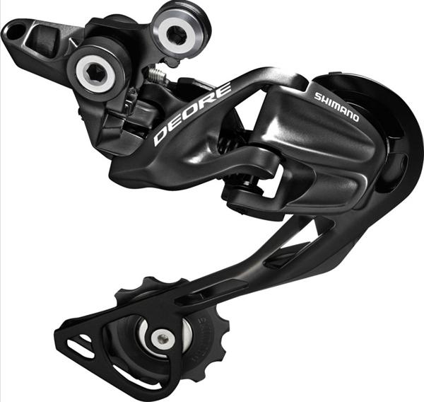 Shimano Deore Schaltwerk RD-M610 GS Shadow black