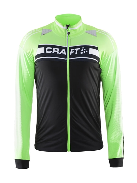 Craft Grand Tour Storm Jacket black/gecko