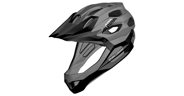 Alpina King Carapax Helmet Black Buy ActionSportsde - Alpina helmets