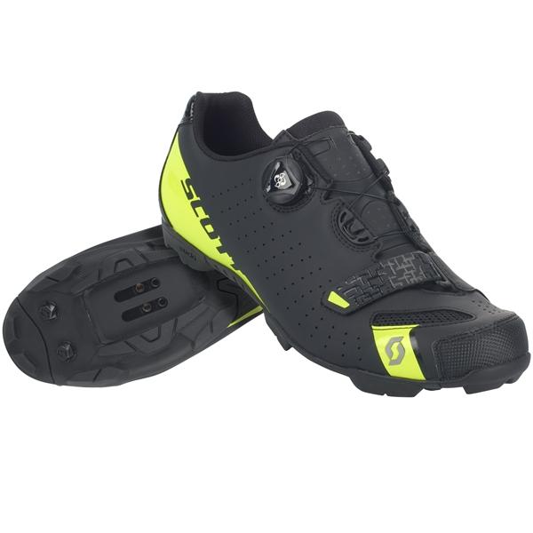 Scott Shoe MTB Comp Boa matt black/sulphur yellow