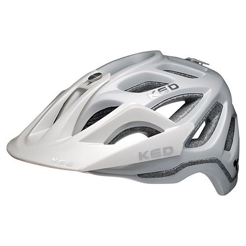 KED Trailon MTB Helm pearl matt