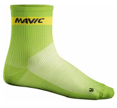 Mavic Mid Sock light green %