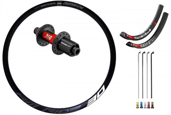 "DT Swiss 240 EXP Boost Disc CL Custom Hinterrad MTB 29"""