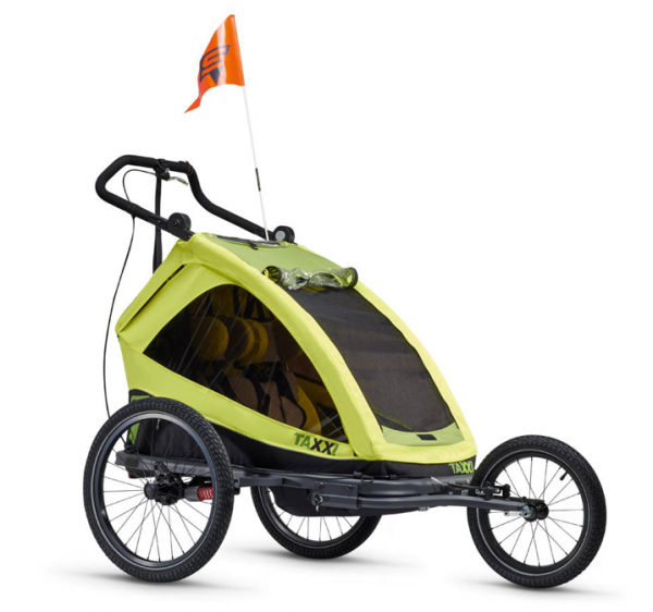 S'COOL child carrier taXXi Elite for one 3 in 1 lemon