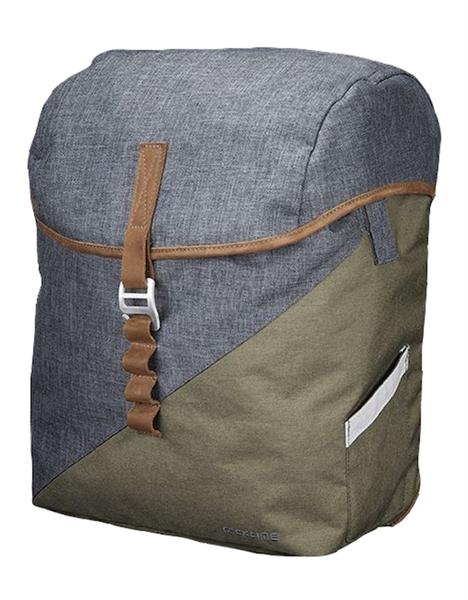 Racktime Einzeltasche Mia peat bog green/dust grey