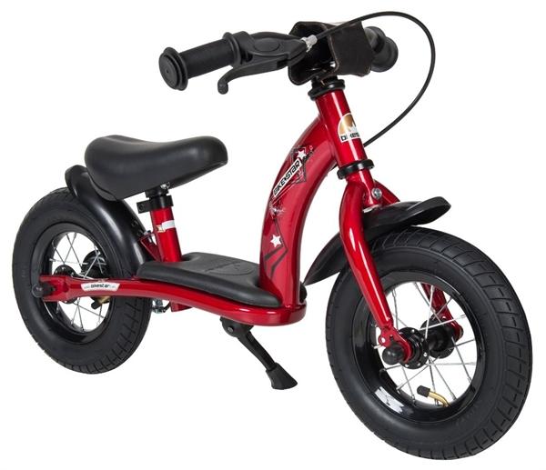 Bikestar Sicherheits-Kinderlaufrad Classic 10 Zoll herzschlag rot